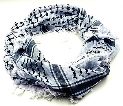 Fashion Unisex Women Men Arab Shemagh Keffiyeh Palestine Scarf Shawl Wrap NS