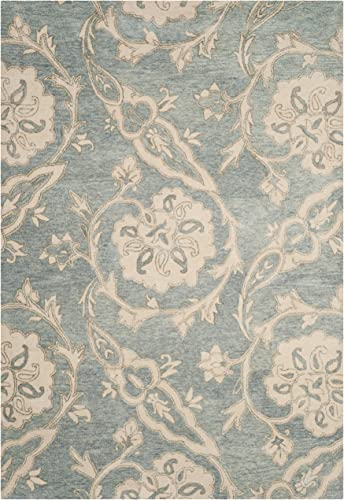Safavieh Roslyn Collection ROS901A Handmade Wool Area Rug