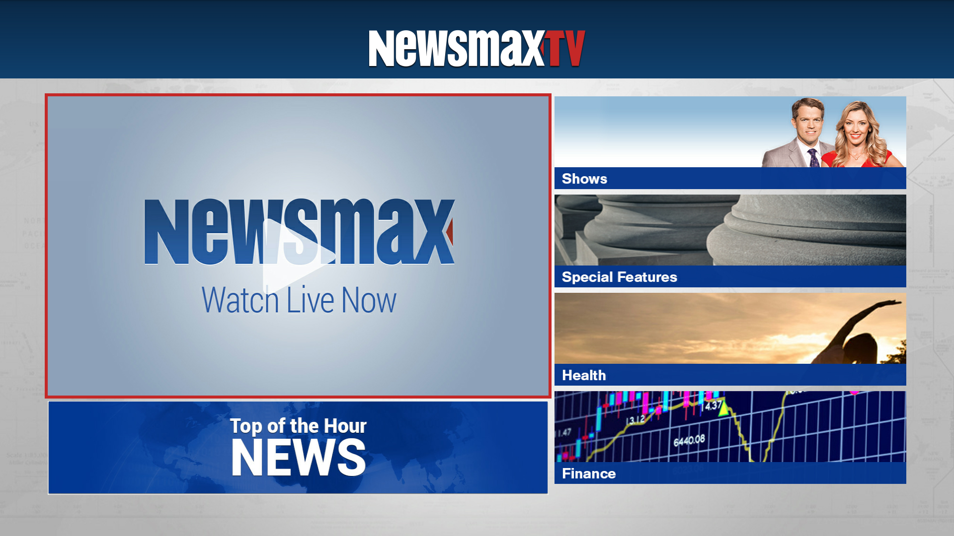 Newsmax TV: Amazon.com.au: Appstore for Android