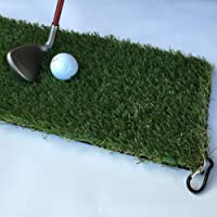 ProGreen Winter rules fairway mat chip/drive Polyurethane real feel & Clip
