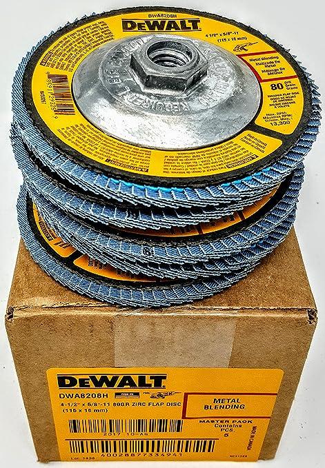 Amazon.com: (caja de 5) Dewalt DWA8208H 4-1/2