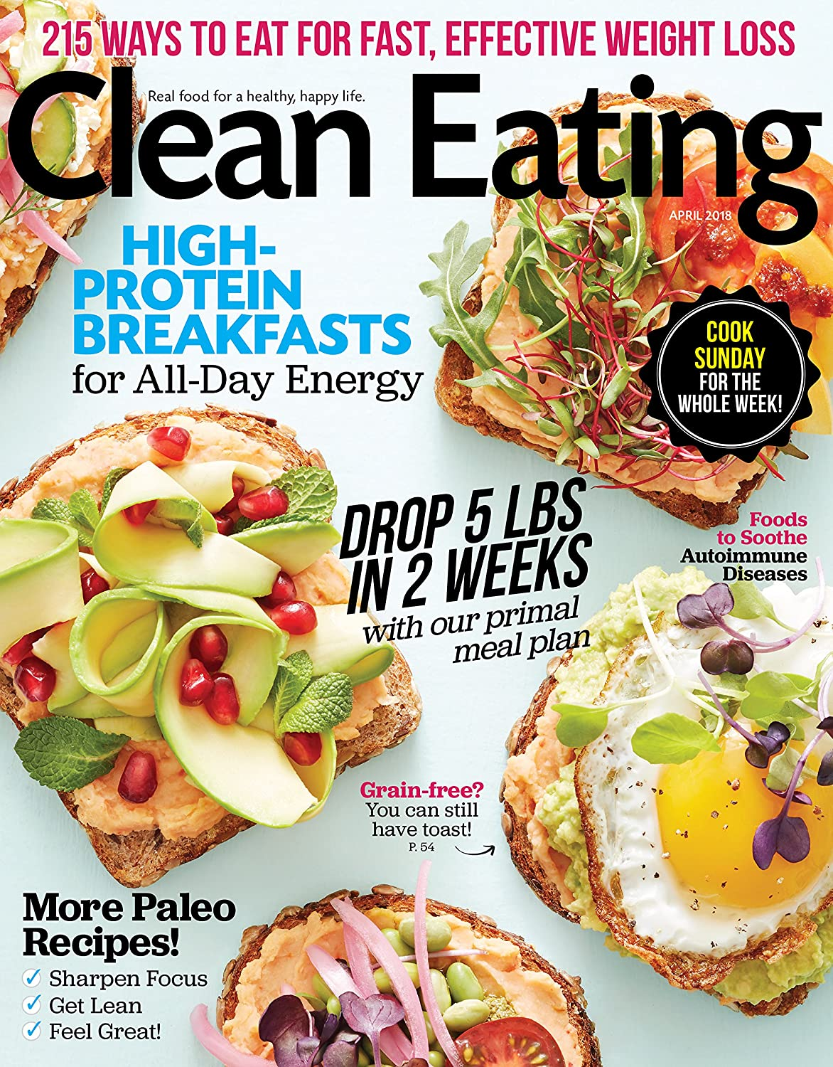 Clean Eating Print Magazine