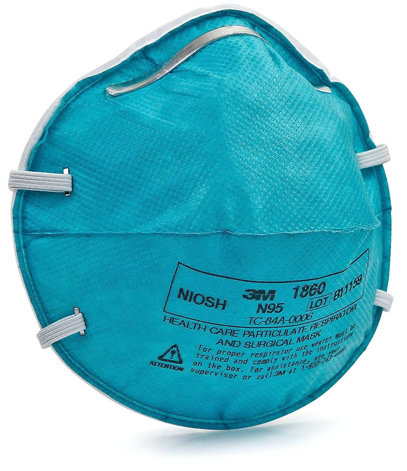 N95 Respirator Amazon in Mask 3m Count 1860 Surgical And 20