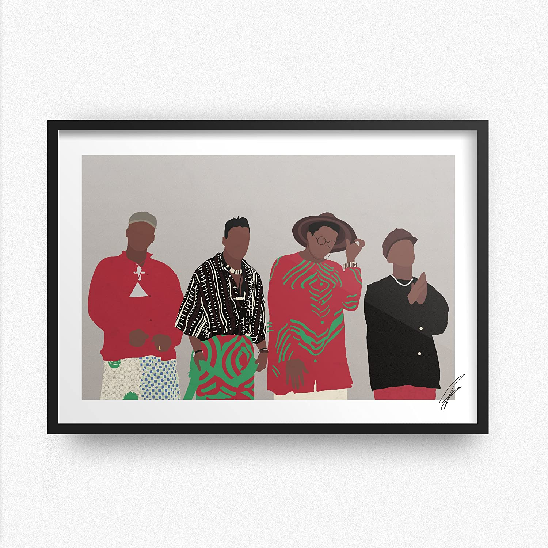 Illustrazioni ispirate a A Tribe Called Quest