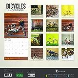 2017 Bicycles Wall Calendar