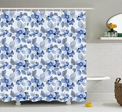 Amazon Ambesonne Shabby Chic Shower Curtain Watercolor