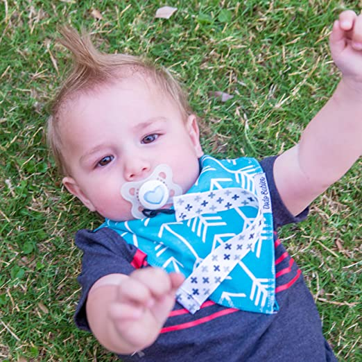 Amazon.com: Bebé bandana Drool baberos por Dodo Bebés + 2 ...