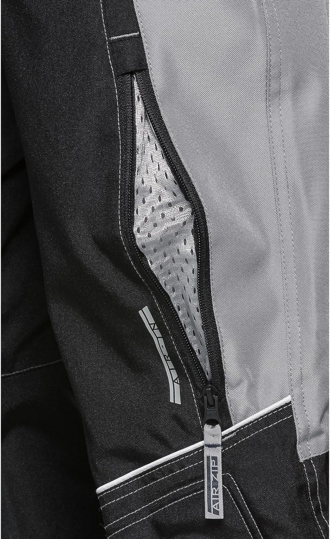 Protektoren nachr/üstbar 2 Ges/ä/ßtaschen Grau 122-164 Verbindungsrei/ßverschluss DXR Motorradhose Kinder Sommer Textilhose 2 Einschub- Taschen f/ür Knie- und H/üftprotektoren