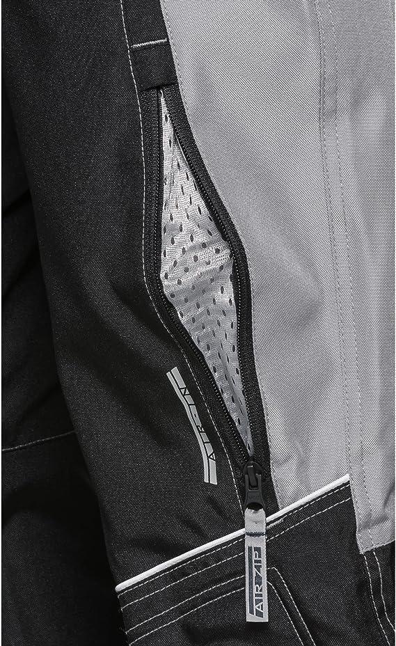 Taschen f/ür Knie- und H/üftprotektoren Protektoren nachr/üstbar 2 Ges/ä/ßtaschen Motorradschutzhose Kinder Sommer Textilhose 122-164 DXR Motorradhose Grau 2 Einschub- Verbindungsrei/ßverschluss