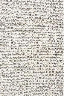 Baumwollteppich weiß  URBANARA Teppich