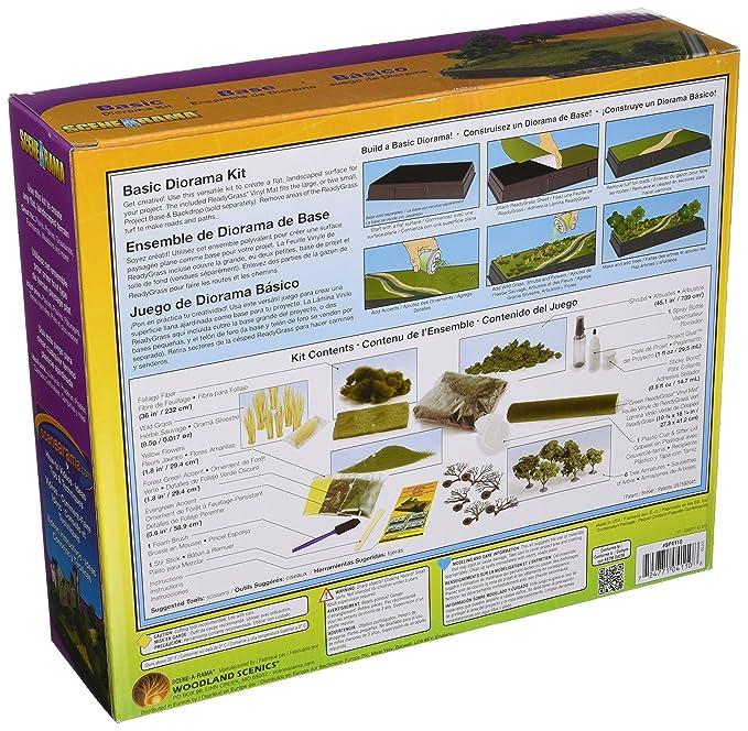 Woodland Scenics Karton Diorama Kit Mountain SP4111