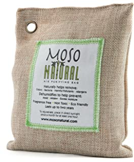 moso natural air purifying bag odor eliminator for cars closets bathrooms and pet - Da2900020b