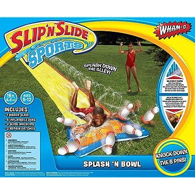 4SGM Wham-O SLIP'N Slide Splash Bowling: Toys & Games