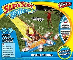 4SGM Wham-O SLIP'N Slide Splash Bowling
