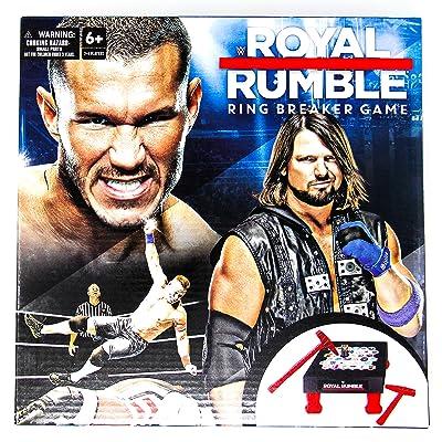 WWE Royal Rumble Ring Breaker Game: Toys & Games