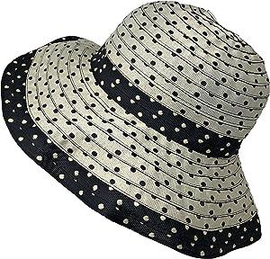 Packable Ribbon Crusher Sun Shade Beach Hat 5d46f6104204
