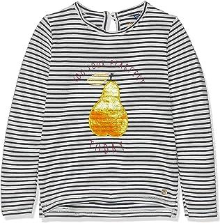 TOM TAILOR M/ädchen T-Shirts//Tops Langarmshirt mit Fell-Motiv