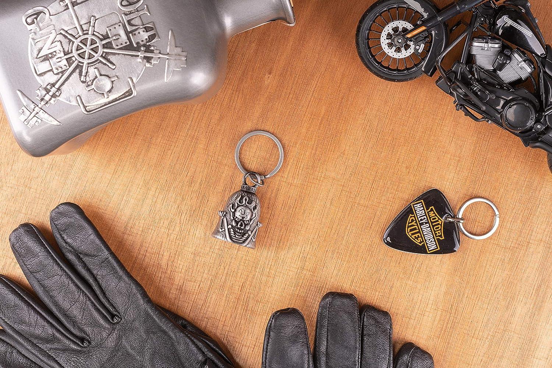 Gl/ücksbringer Glocke motorrad Bell Biker