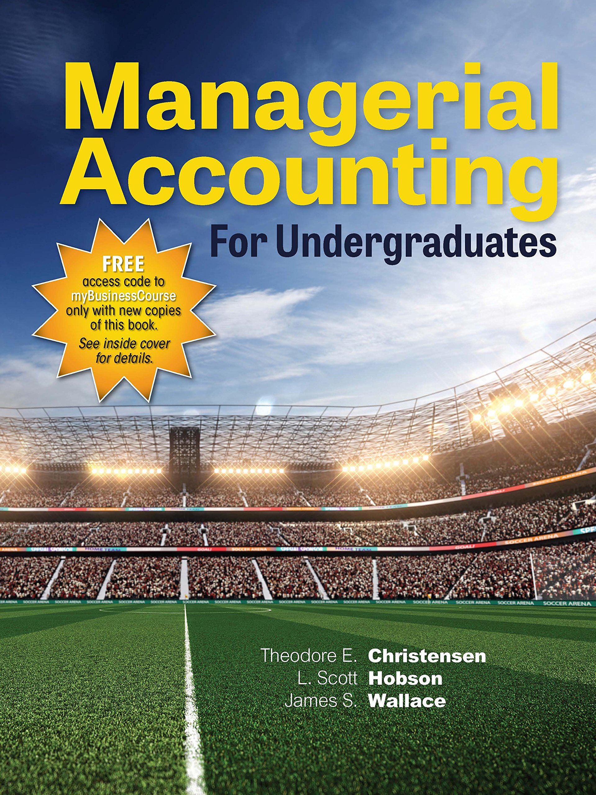 MANAGERIAL ACCOUNTING F/UNDERGRADUATES pdf epub