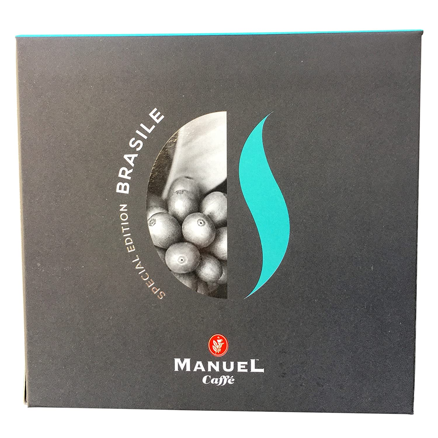 10 Packs Nespresso Compatible Capsules. Roasted Italian Premium Espresso, Manuel Caffe. Intense Aroma, Fine And Mild, Aromatic In The Cup. Thick Crema.