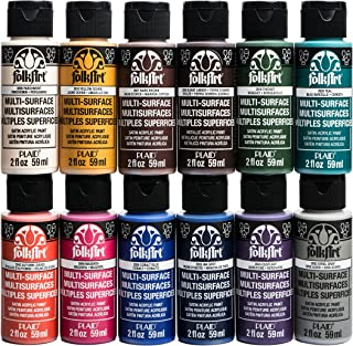 product image for FolkArt Multi-Surface Paint Set (2 Ounce), No.2 (12-Pack)