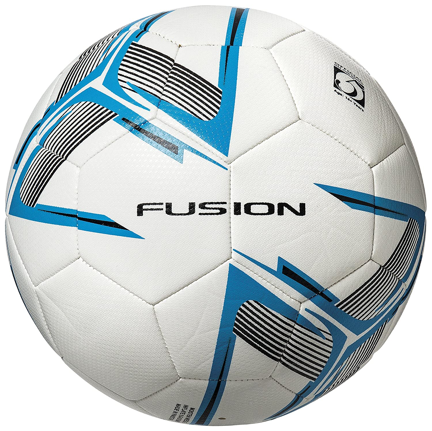 10x Precision Fusion Match Training Ball White/Blue/Black Size 3 Football