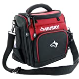 "Husky 82021N11 9"" 600 Denier Water and Weather Resistant Insulated Cooler with 2 Mesh Sleeves and Carrying Strap"