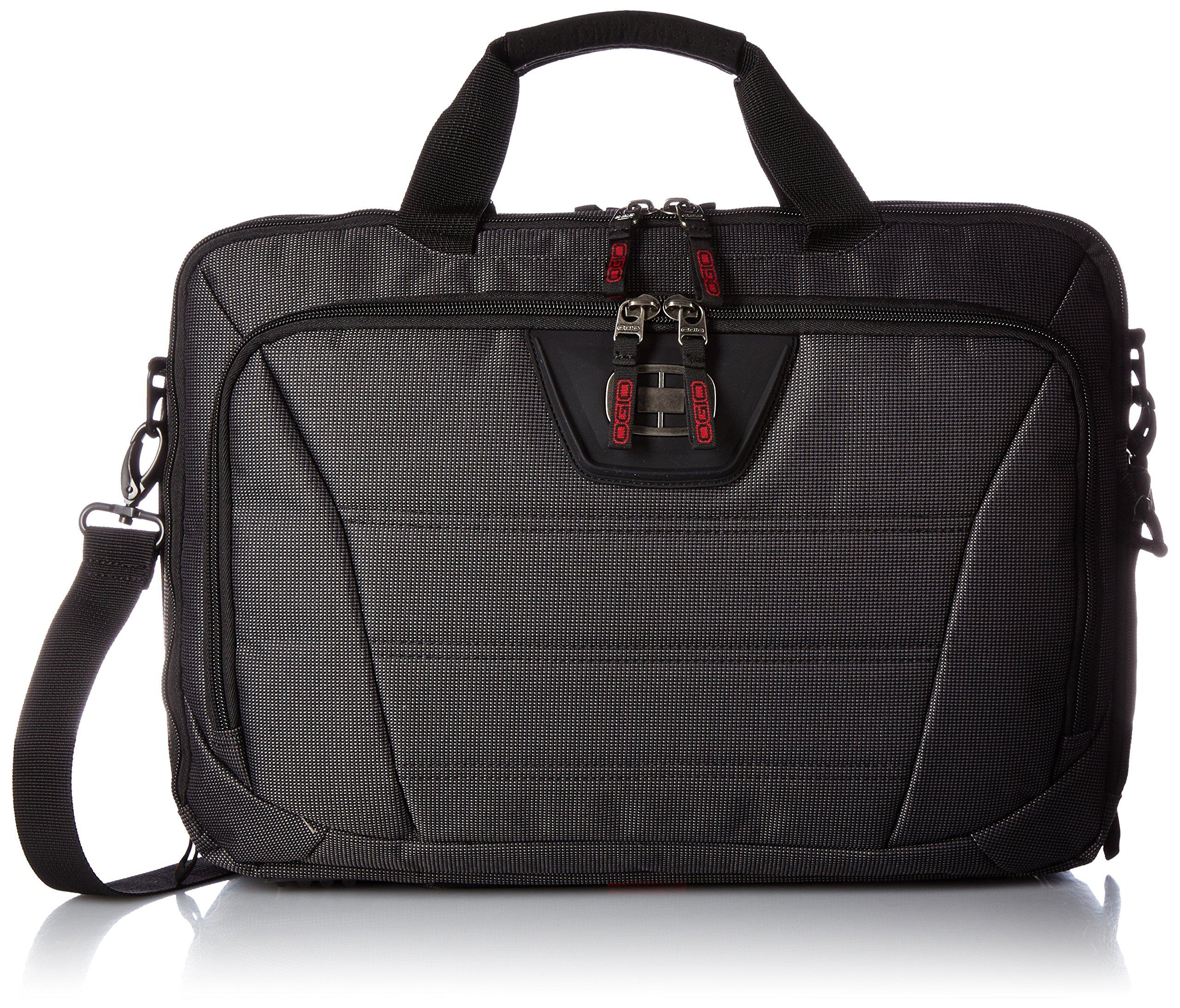 OGIO International Renegade Top Zip Laptop Backpack, Black Pindot