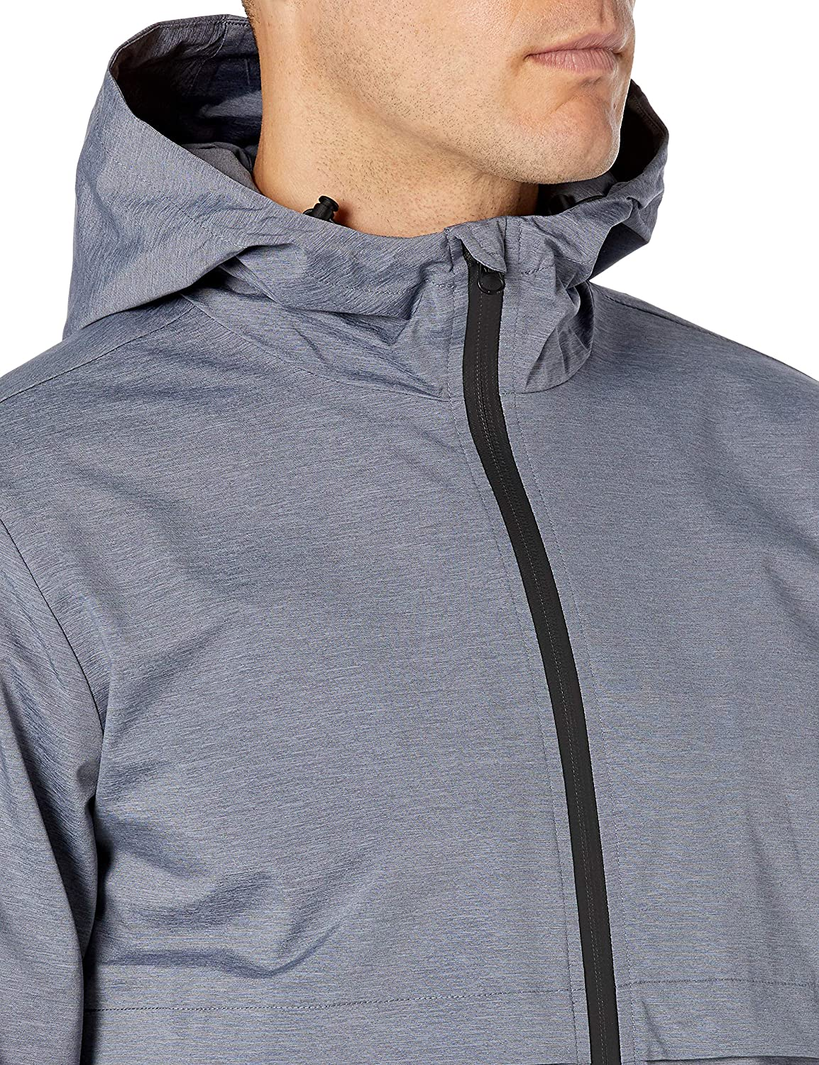 Brand Peak Velocity Mens Windbreaker Full-Zip Jacket