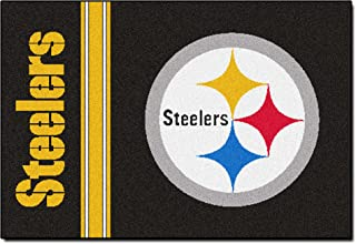 product image for FANMATS NFL Pittsburgh Steelers Nylon Face Starter Rug