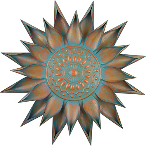 Regal Art Gift Patina Bloom Wall Decor