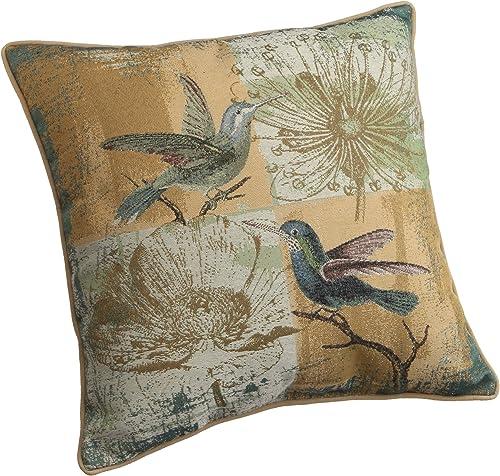 Brentwood Originals Bird Tapestry Decorative Pillow, Pillow, Yellow