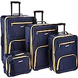 Rockland Luggage 4 Piece Set, Navy, One Size