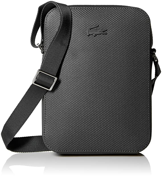b84fb827cd4 Lacoste Men's Chantaco Vertical Camera Bag, black, 00: Amazon.ca ...