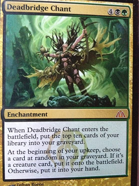 Magic: the Gathering - Deadbridge Chant - Dragons Maze by Magic: the Gathering: Amazon.es: Juguetes y juegos