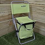 Summit Folding Seat Stool Cool Bag Fishing Festivals Picnic BBQ Outdoor Camping