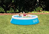 Intex 6ft x 20in Easy Set Inflatable Swimming Pool, Aqua Blue with Pump & Cover