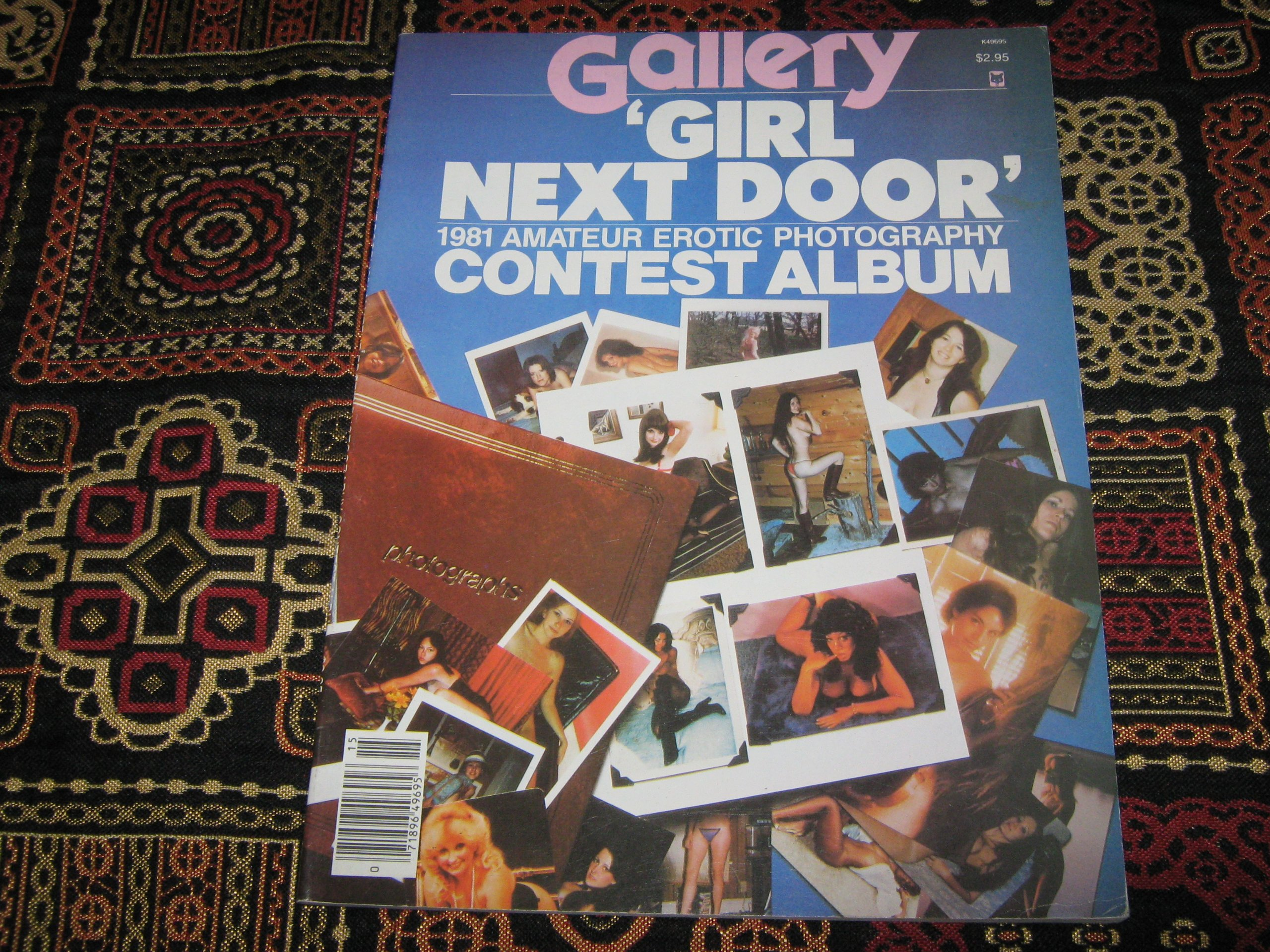 Gallery Girl Next Door Contest Album (1981 Amateur Erotic Photography, 1981)