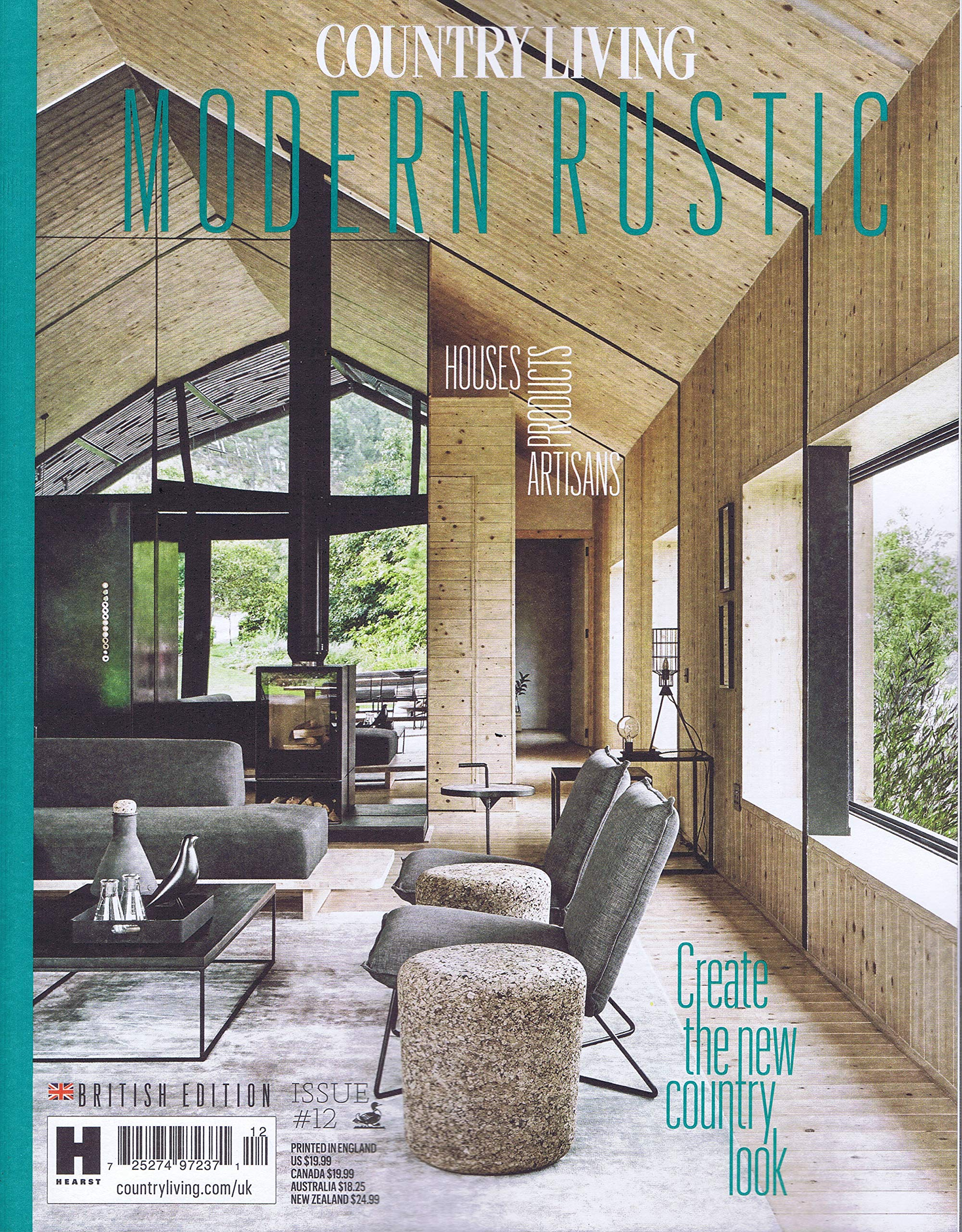 amazon country living modern rustic uk no 12 2018 単号
