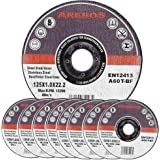 Assortiment de disques à tronçonner à moyeu déporté pour Métaux Diamètre 125 mm Diamètre d'alésage 22,23 Epaisseur 1,0 mm 400 disques