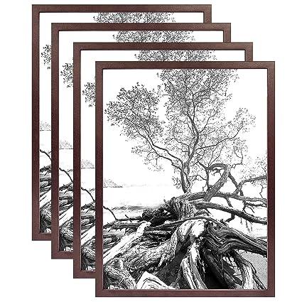 Amazon.com: Art Shadow-Box 24x30 Walnut Wood frame by MCS Our price ...