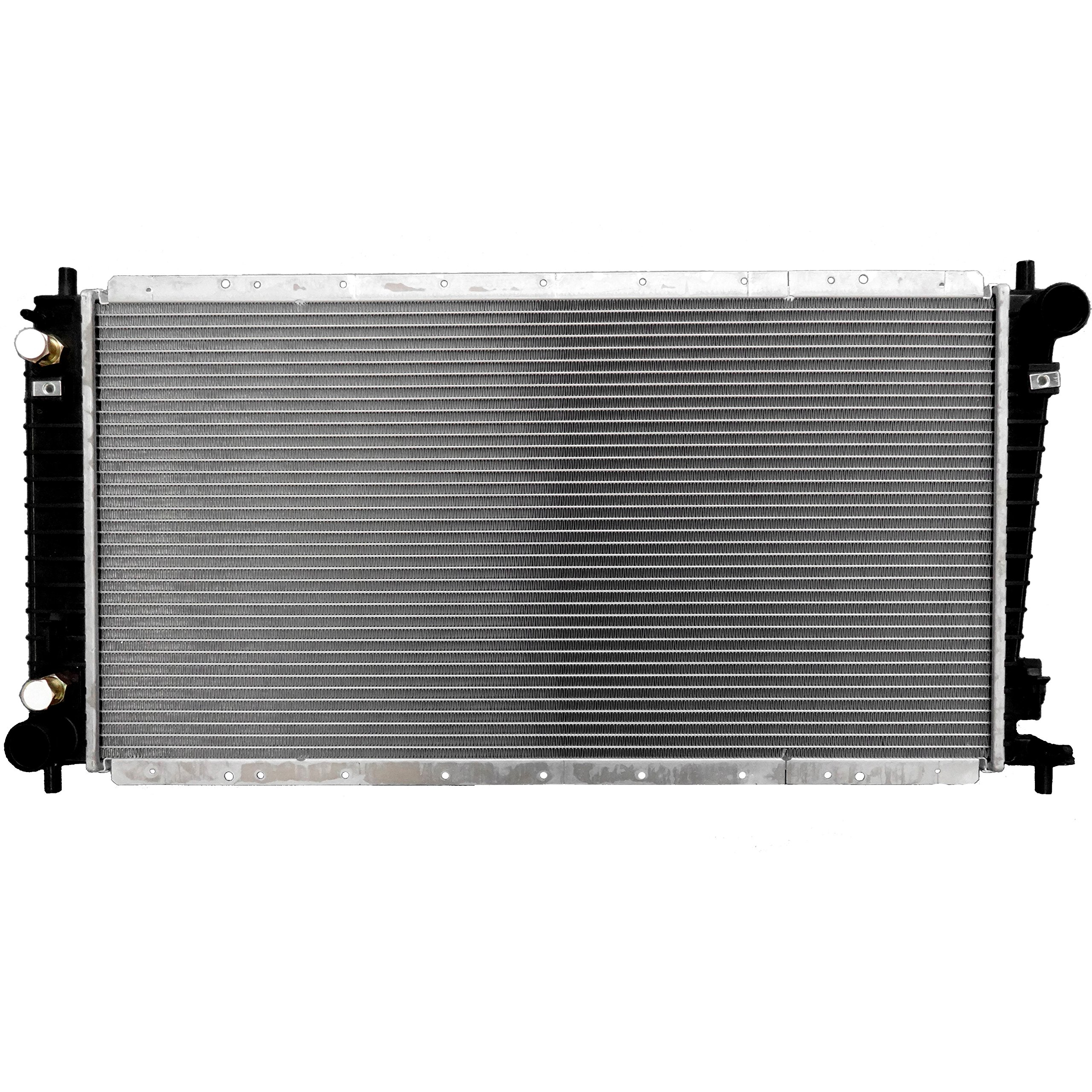 SCITOO Radiator 1831 for 1997 1998 Ford Expedition/F150 XLT GAS 4.6L Ford F-150 F-250 GAS 4.6L by Scitoo