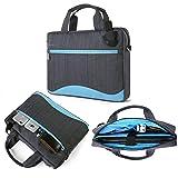Blue Laptop Messenger Bag Bundle for Microsoft