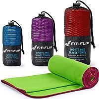 Mikrofaser Handtuch Set – Microfaser Handtücher für Sport, Fitness, Sauna   Microfaser Badetuch, Reisehandtuch