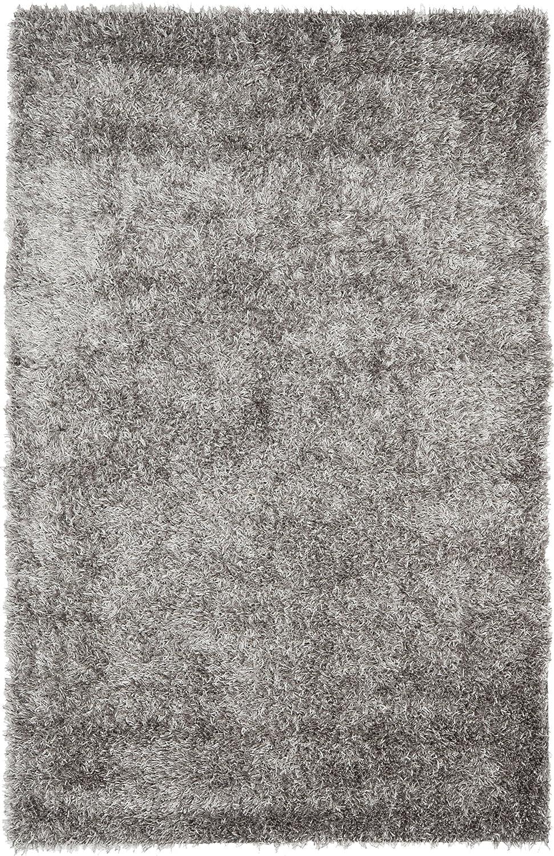 Amazon.com: Safavieh New Orleans Shag Collection SG531 8080 Grey Polyester  Area Rug (5u0027 X 8u0027): Kitchen U0026 Dining