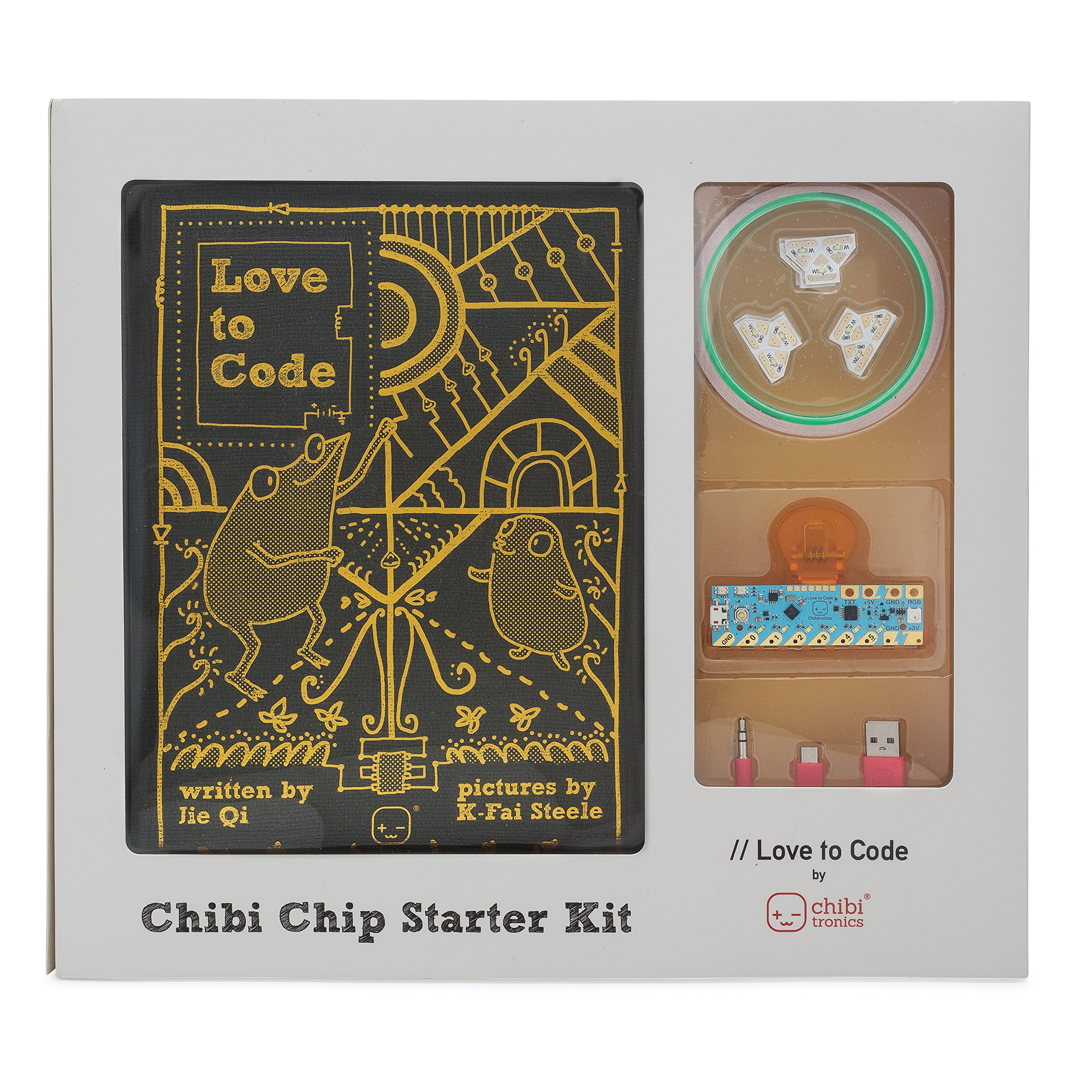 Chibitronics Love to Code Creative Coding Kit