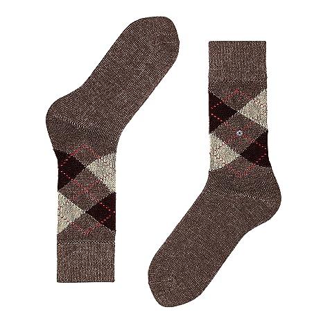 Brown 5256 Marr/ón 40//46 Burlington Preston Talla del fabricante: 40-46 Calcetines para Hombre