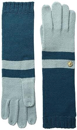 1350382e4925 AK Anne Klein Women s Colorblock Long Glove