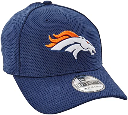 4d32cac6a Denver Broncos Navy New Era On-Field Sideline Tech 39THIRTY Flex Fit Hat    Cap