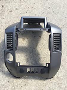 NEW OEM NISSAN 2004-2006 TITAN/ARMADA CENTER DASH/RADIO AC BEZEL-WITH SPEAKER